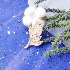 Заготовка Бутон розы  ФНЗ-143