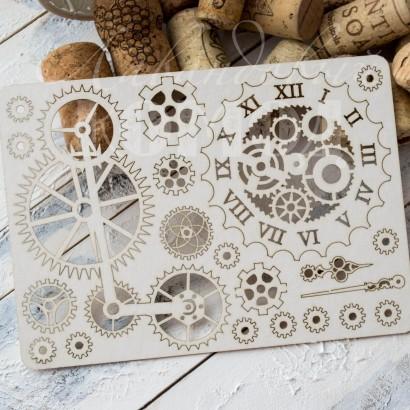 """Набор чипборд """"Механика и часы"""" НМХ - 009"""