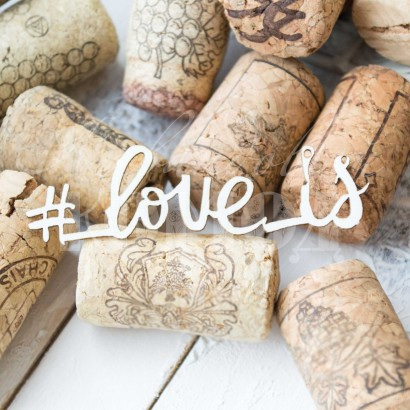 "Надпись ""#Love is"" ЧНАГ-096"