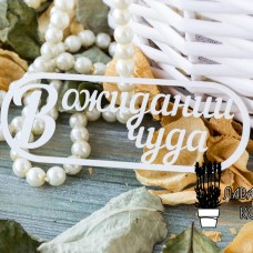 "Чипборд ""В ожидании чуда"" ЧНАГ-50"
