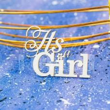 """Чипборд """"It's a GIRL"""" НД-39"""