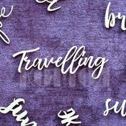 "Чипборд ""Travelling"" НЛ-06"
