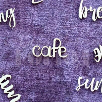 """Чипборд """"Cafe"""" НЛ-09"""