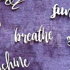 """Чипборд """"Breathe"""" НЛ-12"""