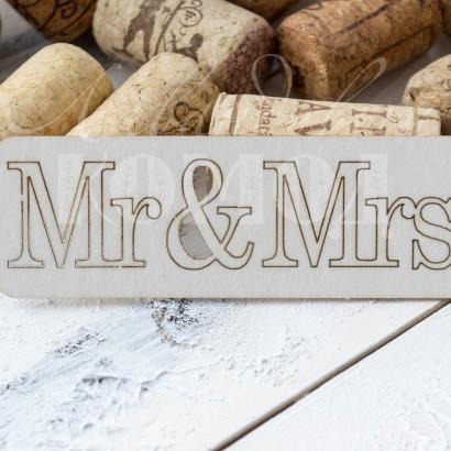 """Чипборд """"Mr&Mrs"""" НС-08"""