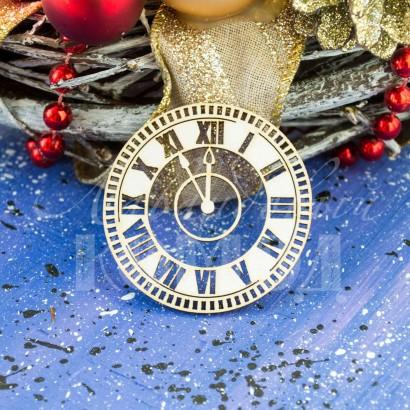 Чипборд Новогодние часы-31 НГЧ-31