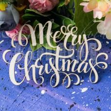 """Чипборд """"Merry Christmas"""" ННГ-01"""