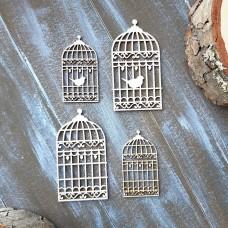 """Набор """"Клетка с птицей"""" ЧА-43"""