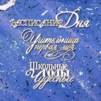 """Набор надписей """"Учитель"""" ШК-14"""