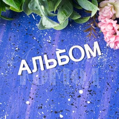 """Набор букв """"Альбом"""" для тиснения ЧЗ-16"""