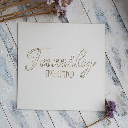 "Заготовка для тиснения ""Family photo"" ЧЗ-65"