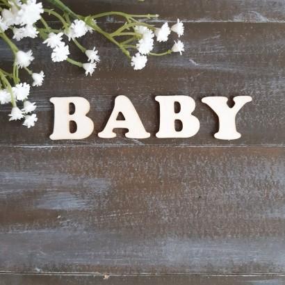 Baby -набор букв для тиснения ЧЗ-35