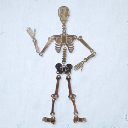 Скелет из зеркального пластика ЗП-01